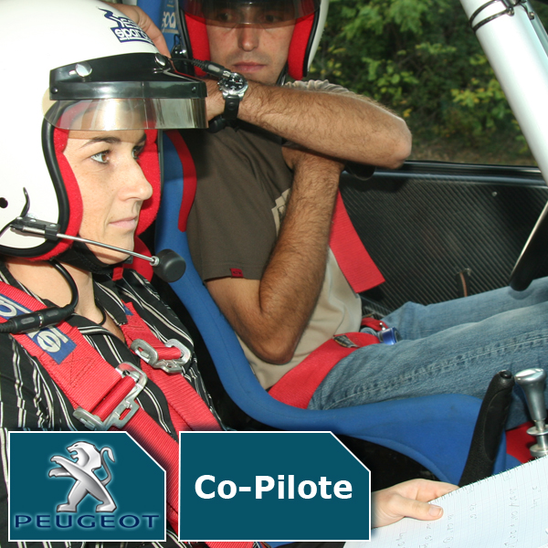 Baptême de piste en co-pilote avec Fabrice Morel